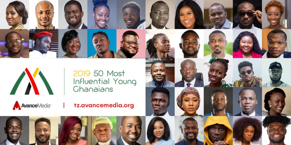 Collage - 50 Most Influential Young Ghanaians 2